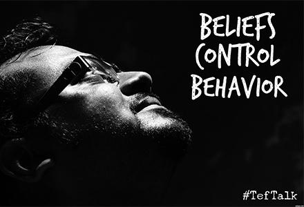 Beliefs Control Behavior