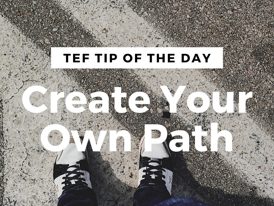 Create Your Own Path graphic.